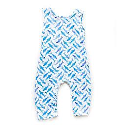 Pickles N' Roses™ Shark Sleeveless Knit Coverall