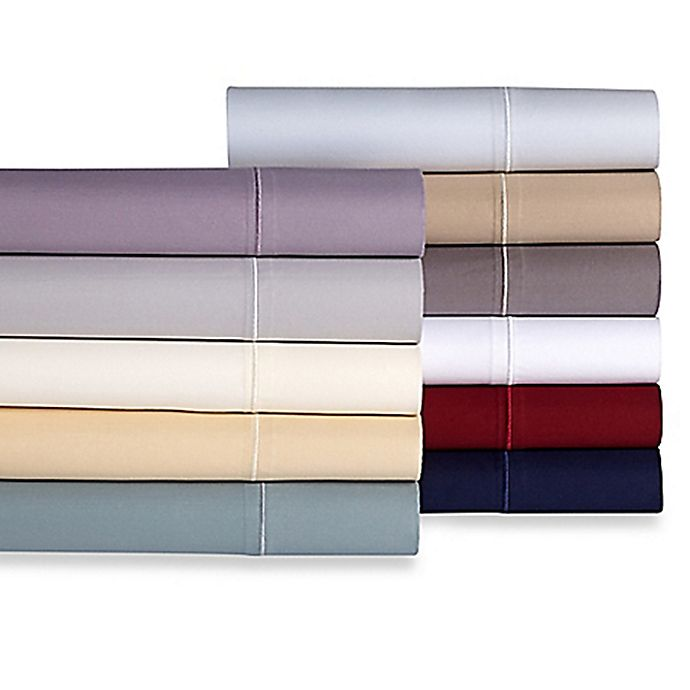 Alternate image 1 for Wamsutta® Solid 500-Thread-Count PimaCott® Sheet Set