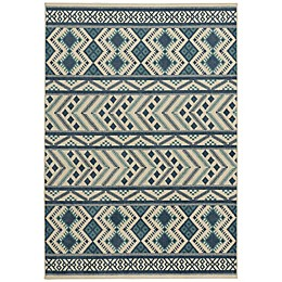 Capel Rugs Genevieve Gorder Aster-Kelim Indoor/Outdoor Rug