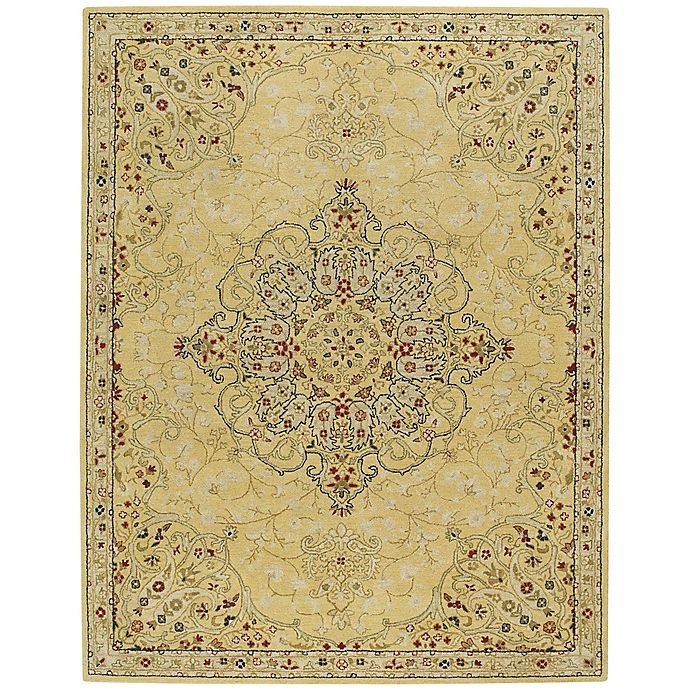 Alternate image 1 for Capel Smyrna Medallion 8-Foot x 11-Foot Area Rug in Yellow