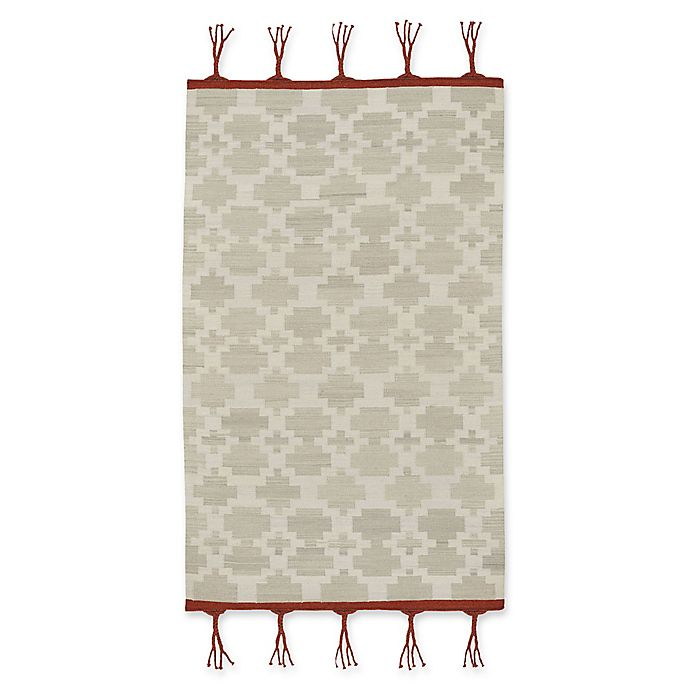 Alternate image 1 for Capel Rugs Genevieve Gorder Hyland 5-Foot x 8-Foot Area Rug in Grey