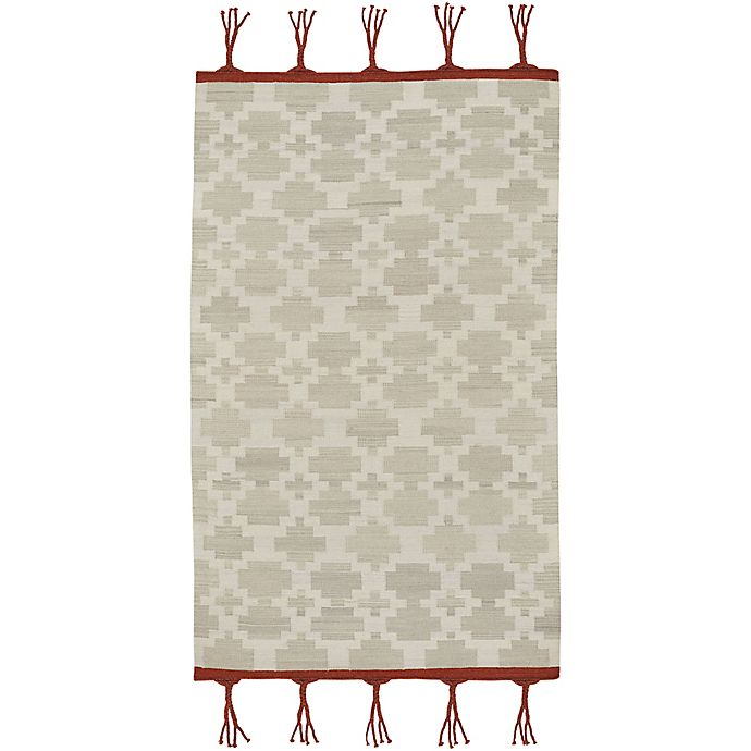 Alternate image 1 for Capel Rugs Genevieve Gorder Hyland 7-Foot x 9-Foot Area Rug in Grey