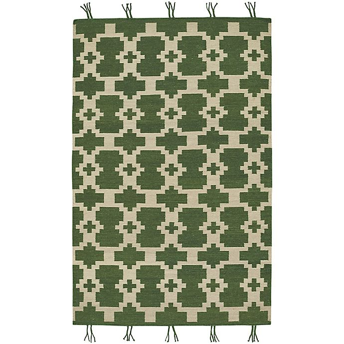 Alternate image 1 for Capel Rugs Genevieve Gorder Hyland 7-Foot x 9-Foot Area Rug in Green