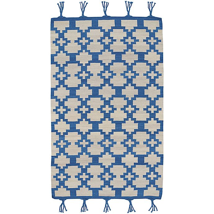 Alternate image 1 for Capel Rugs Genevieve Gorder Hyland 8-Foot x 11-Foot Area Rug in Blue