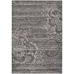 Capel Rugs Channel Floral 7-Foot 10-Inch x 10-Foot 10-Inch Area Rug in Dark Grey