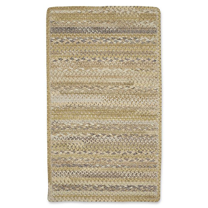 Alternate image 1 for Capel Rugs Harborview Cross Sewn Braided 8-Foot x 11-Foot Area Rug in Beige