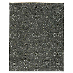 Capel Rugs Heavenly Floral 2-Foot x 3-Foot Accent Rug in Grey