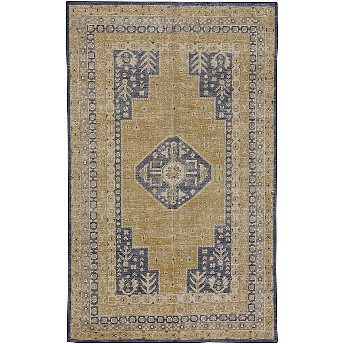 Alternate image 1 for Capel Rugs Caria 8-Foot x 10-Foot Area Rug in Yellow