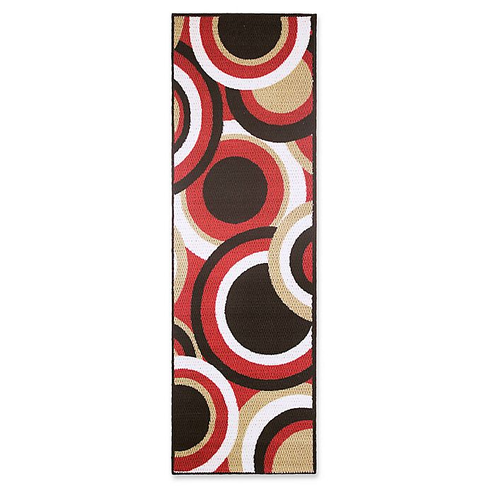 Alternate image 1 for Modern Living Circles 1-Foot 8-Inch x 5-Foot Accent Rug
