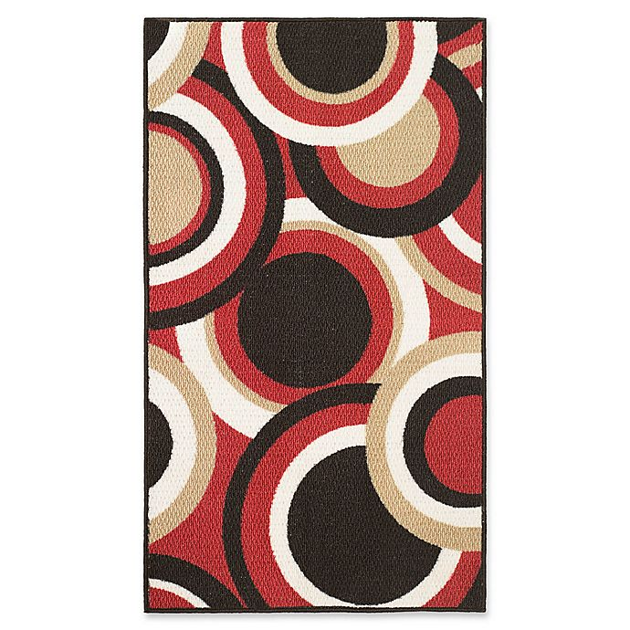 Alternate image 1 for Modern Living Circles 2-Foot 2-Inch x 3-Foot 9-Inch Accent Rug