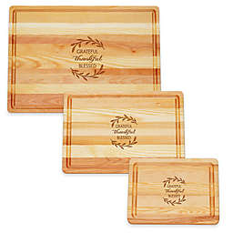 Carved Solutions Master Collection Thankful Cutting Board Collection