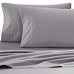 Wamsutta® Solid 500-Thread-Count PimaCott® Dual California King Sheet Set in Grey