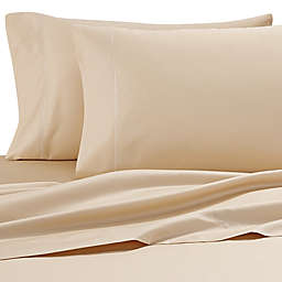 Wamsutta® Solid 500-Thread-Count PimaCott® Olympic Queen Sheet Set in Honey
