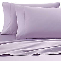 Wamsutta® Solid 500-Thread-Count PimaCott® Dual California King Sheet Set in Purple