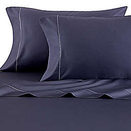 Wamsutta® Solid 500-Thread-Count PimaCott® Dual California King Sheet Set in Denim