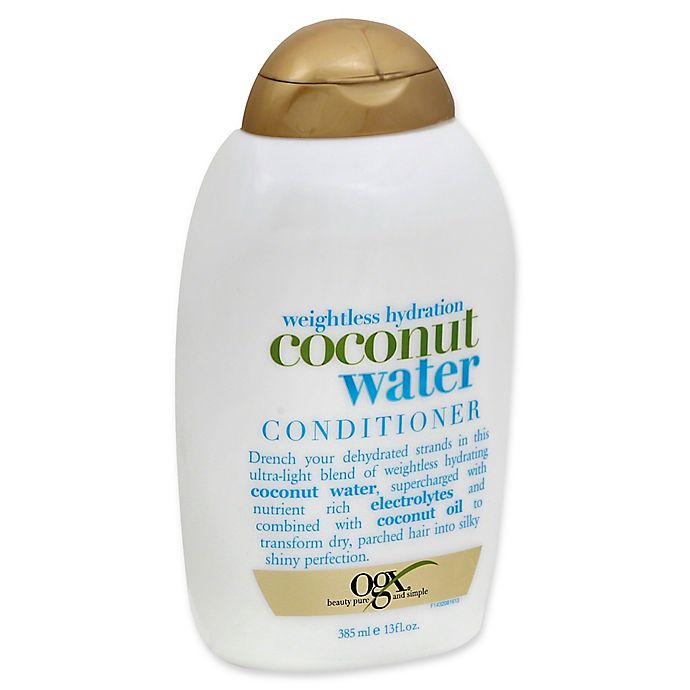 Alternate image 1 for OGX® 13 fl. oz. Weightless Hydration Coconut Water Conditioner