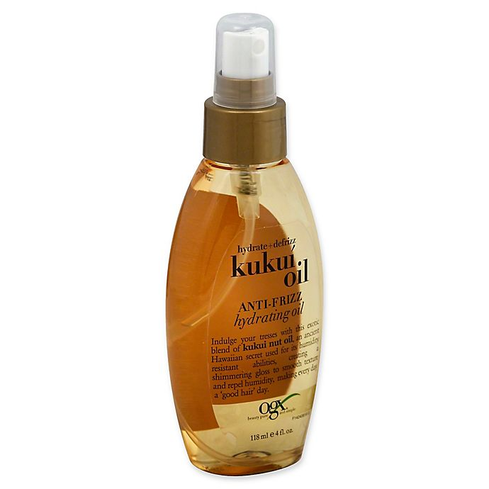 Alternate image 1 for OGX® 13 fl. oz. Hydrate and Defrizz Kukuí Oil Hair Care