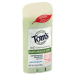 Tom's of Maine® 2.25 oz. Women's Naturally Dry Antiperspirant Deodorant in Natural Powder