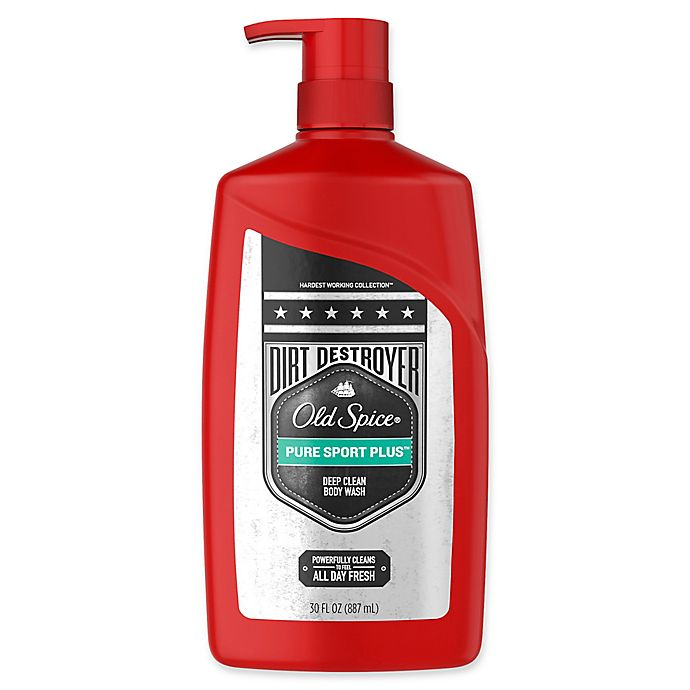 Alternate image 1 for Old Spice® Dirt Destroyer 32 oz. Body Wash in Pure Sport Plus™