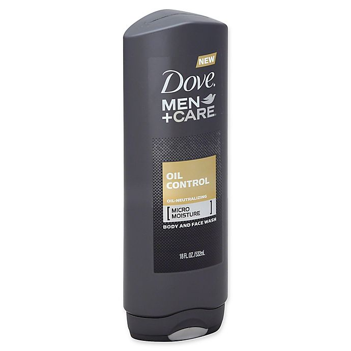 Dove 18 Oz Men Care Oil Control Body And Face Wash Bed Bath Beyond