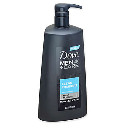 Dove 23.5 oz. Men+Care Clean Comfort Body and Face Wash