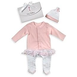 Baby Aspen Ballerina 2-Piece Size 0 to 6 Months Baby Layette Set