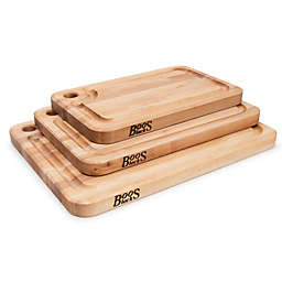 John Boos Natural Maple Cutting Boards