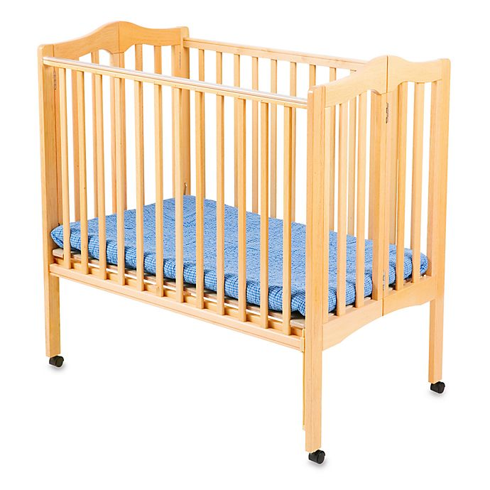Alternate image 1 for Delta Children's Portable Crib in Natural