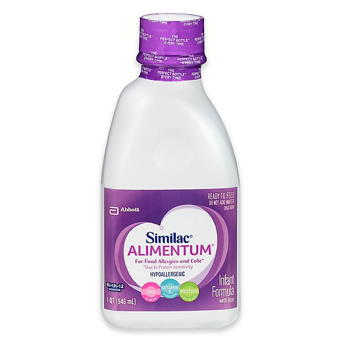 Alternate image 1 for Similac Expert Care® Alimentum® Ready to Feed 32 oz. Bottle
