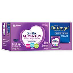 Similac Alimentum 8 oz. Hypoallergenic Infant Liquid Formula (Six Cans)