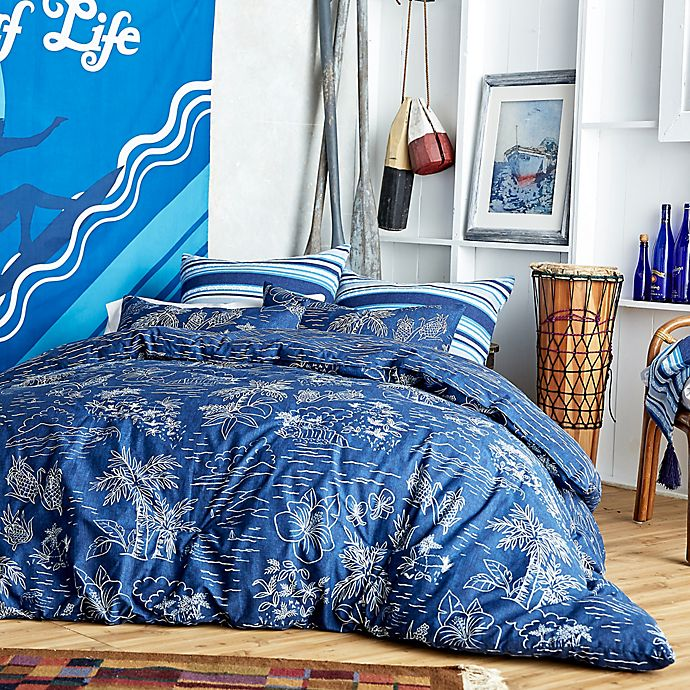 Alternate image 1 for Hang Ten Pismo Beach Reversible Comforter Set