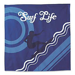 Hang Ten Pismo Beach Surf Life Tapestry in Blue