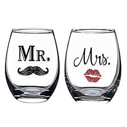 Lillian Rose™ Wedding Wine Glass Collection