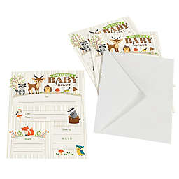 Lillian Rose™ Woodland Baby Shower Invitations (Set of 8)