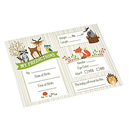 Lillian Rose™ Woodland Baby Shower Prediction Cards (Set of 24)