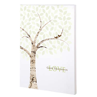 Lillian Rose™ Wedding Signing Tree Canvas