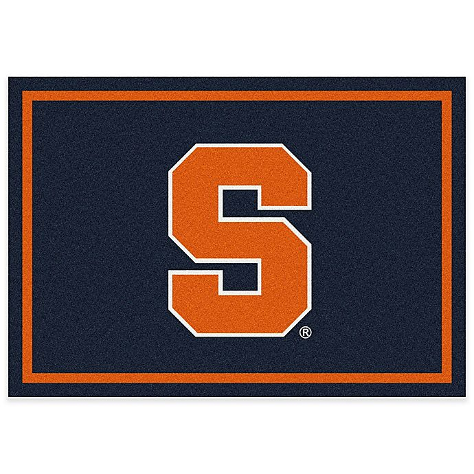 Alternate image 1 for Syracuse University 3-Foot 10-Inch x 5-Foot 4-Inch Small Spirit Rug