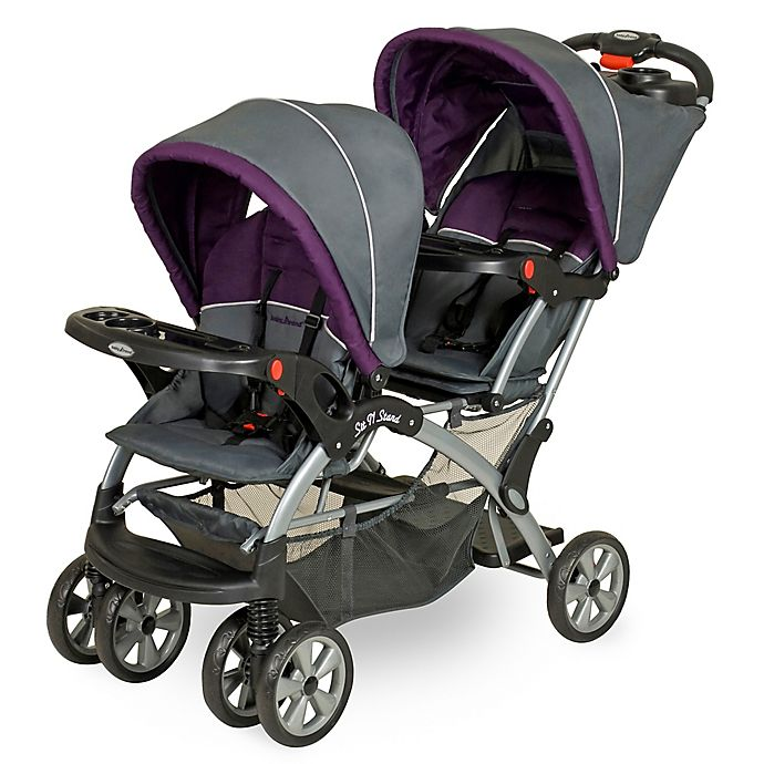 Alternate image 1 for Baby Trend® Sit N' Stand® Double Stroller in Elixer