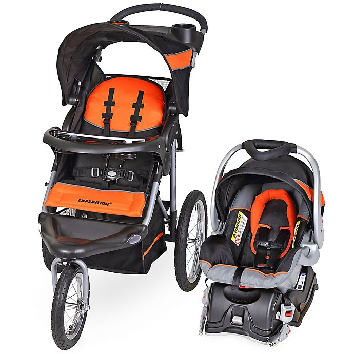 Alternate image 1 for Baby Trend® Expedition® Travel System in Millennium Orange