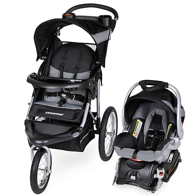 Alternate image 1 for Baby Trend® Expedition® Travel System in Millennium White