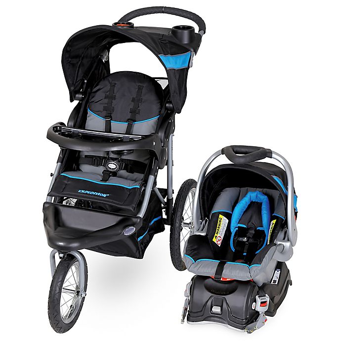 Alternate image 1 for Baby Trend® Expedition® Travel System in Millennium Blue