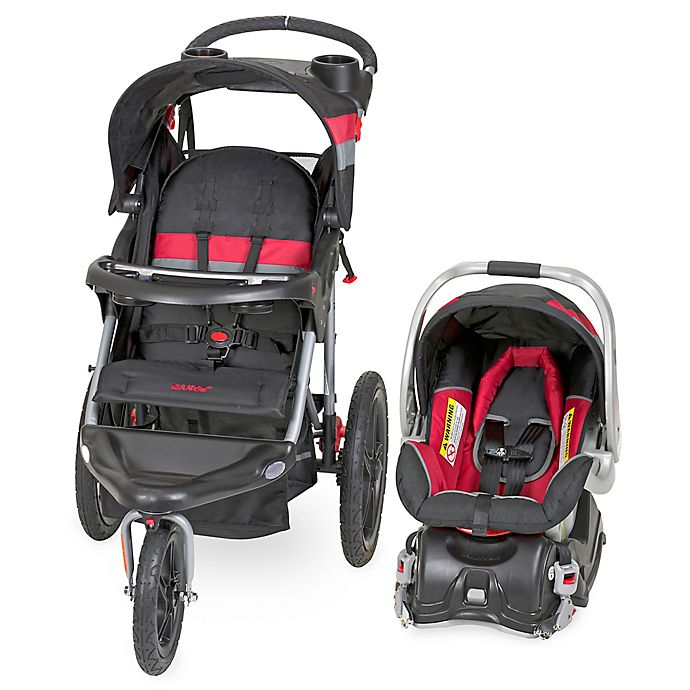 Alternate image 1 for Baby Trend® Range Travel System in Spartan