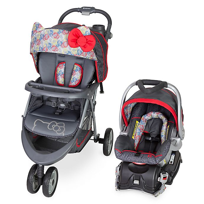 Alternate image 1 for Baby Trend® EZ Ride 5 Travel System in Hello Kitty Expressions