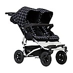 Mountain Buggy® Duet V3 Double Stroller in Grid
