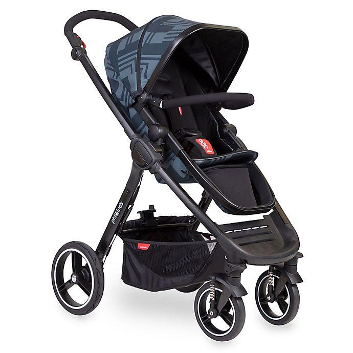 Alternate image 1 for phil&teds® Mod Buggy Stroller in Black