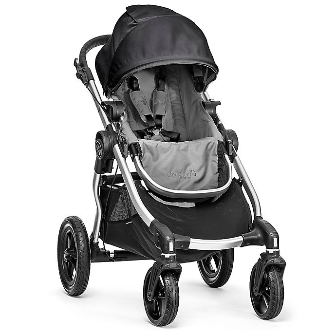 Alternate image 1 for Baby Jogger® 2017 City Select® Stroller in Black/Grey