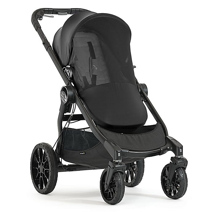 Alternate image 1 for Baby Jogger® City Select® LUX Bug Canopy in Black