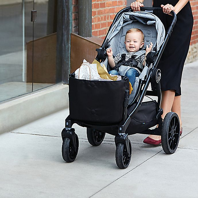 Alternate image 1 for Baby Jogger® City Select® LUX Stroller Shopping Tote in Black