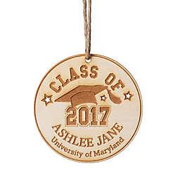 Class of 2017 Wood Ornament