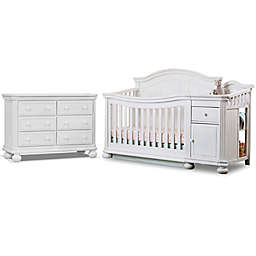 Sorelle Finley Crib  and Changer Collection in White